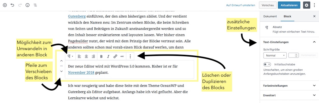 wordpress editor gutenberg
