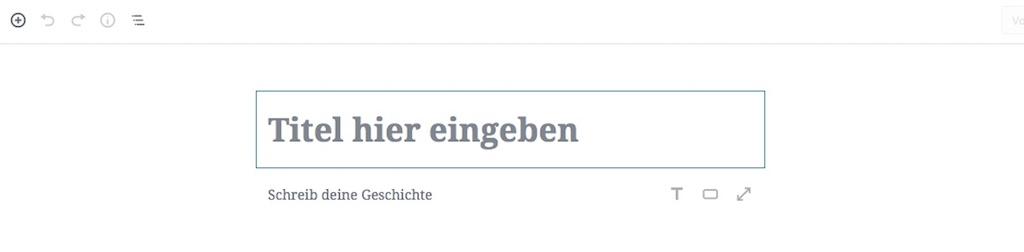 Block für Block: Dein Einstieg in den neuen WordPress Editor Gutenberg 1
