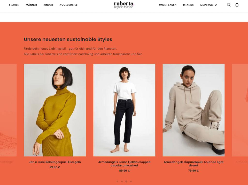 Roberta Organic Fashion – Onlineshop 6