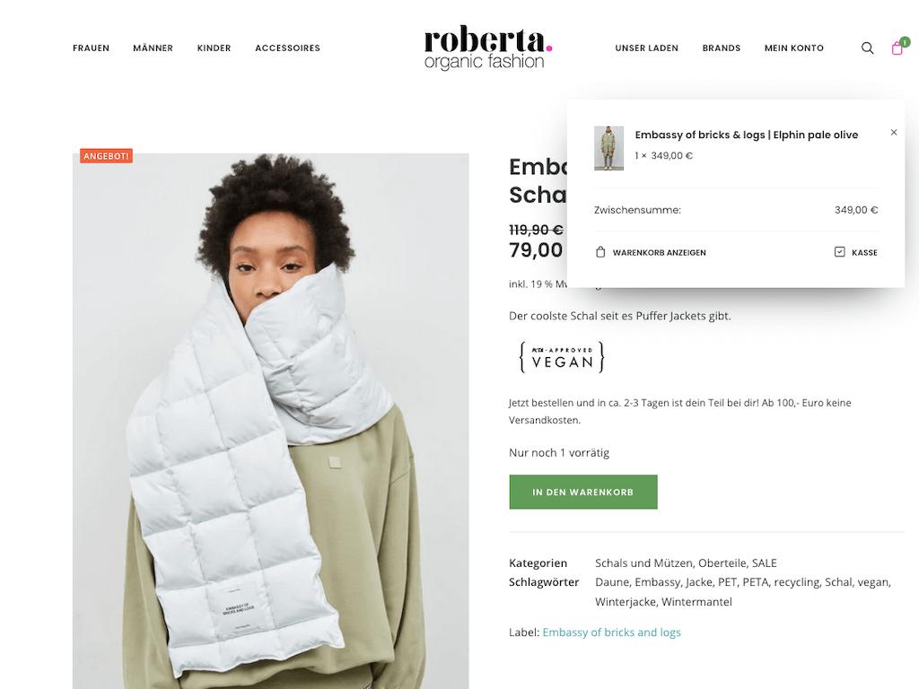 Roberta Organic Fashion – Onlineshop 12