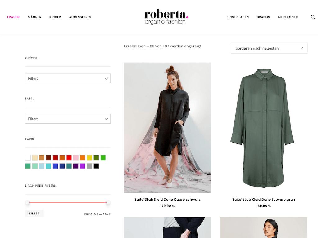 Roberta Organic Fashion – Onlineshop 10