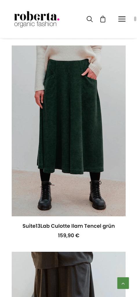 Roberta Organic Fashion – Onlineshop 9