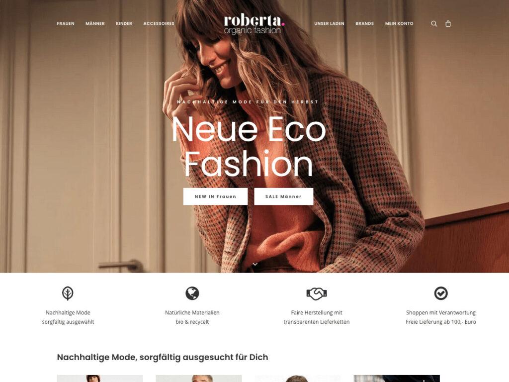 Roberta Organic Fashion – Onlineshop 4