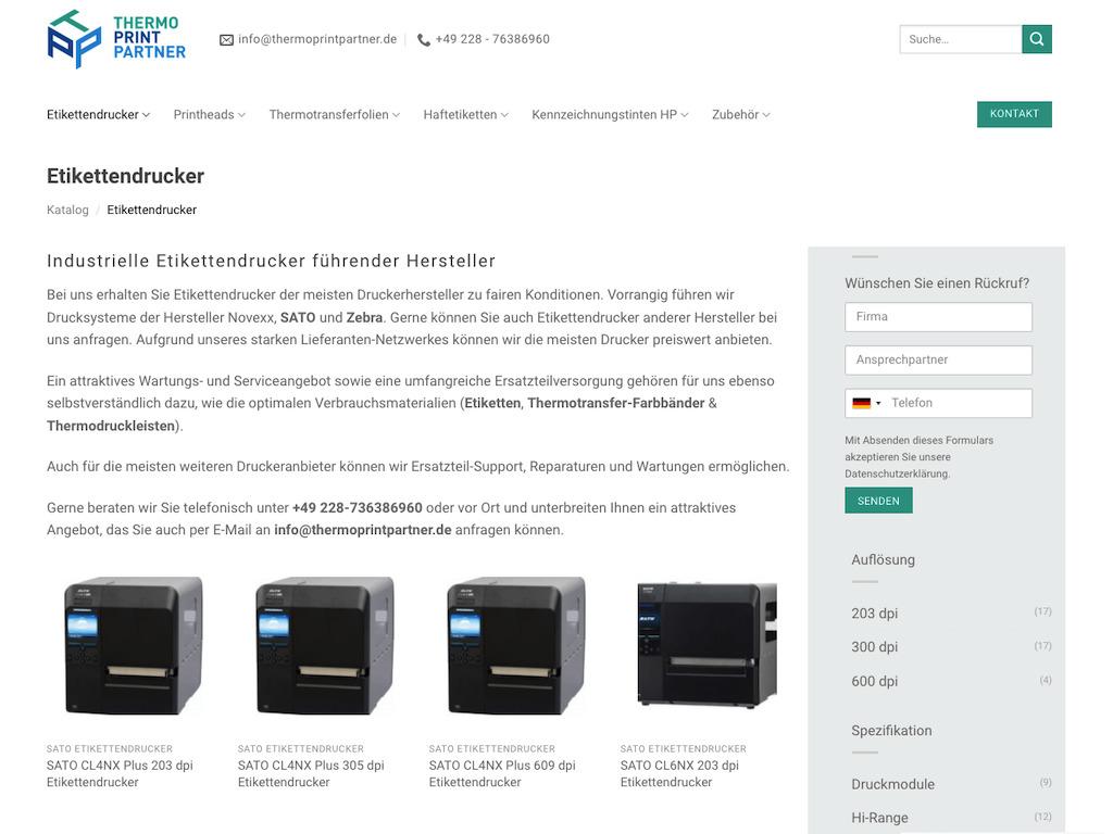 Thermo Print Partner – Katalog 8